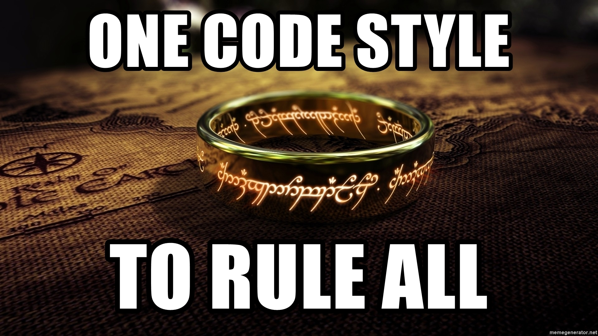 One code style to rule all